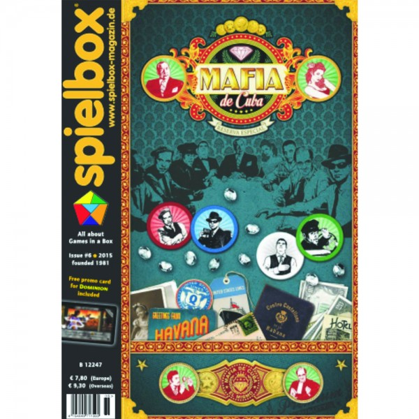 Spielbox 6/2015 (English Edition)