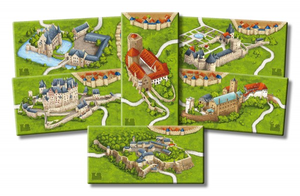 Carcassonne - Burgen in Deutschland (neue Edition)