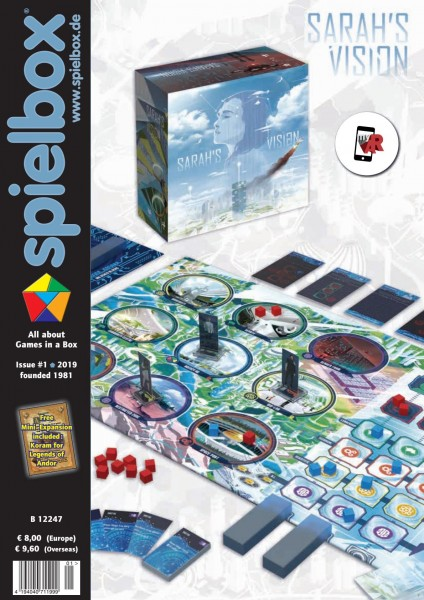 Spielbox 1/2019 (English Edition)