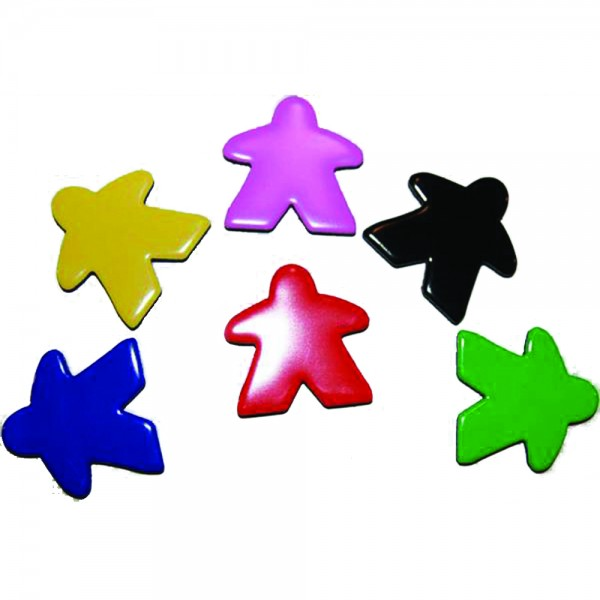 Carcassonne Magnete (6 Stück)