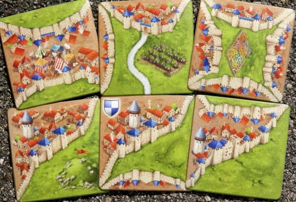 Carcassonne Tassenuntersetzer Set III (2020)