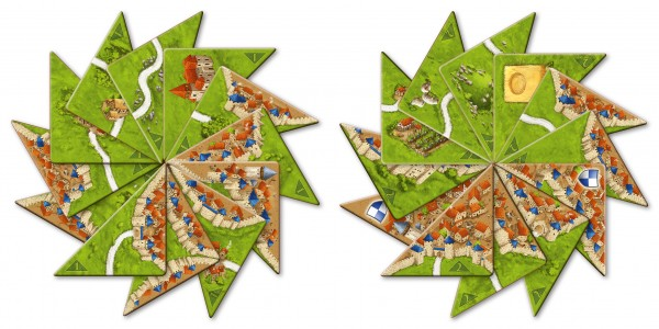 Carcassonne - Halb so wild (new edition, DE/EN)