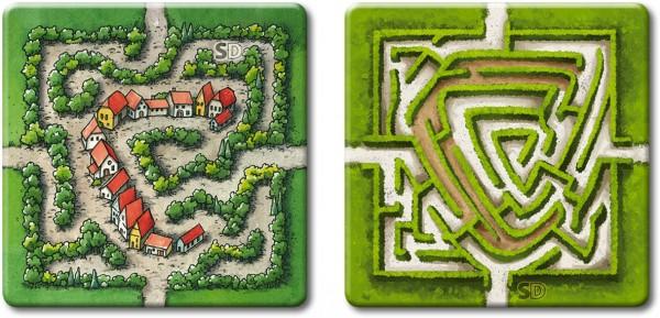 Carcassonne - Das Labyrinth