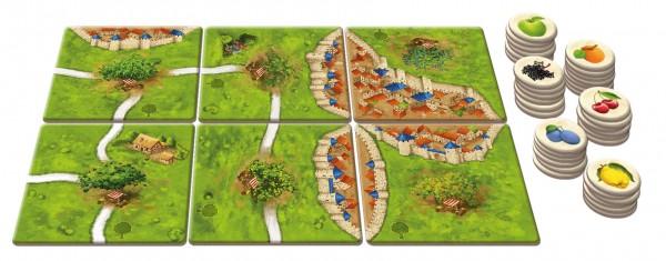 Carcassonne - Die Obstbäume (neue Edition, DE/EN)