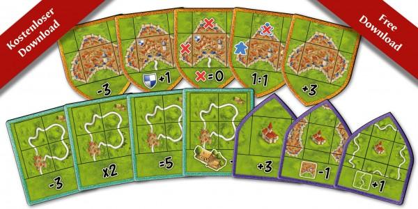 Carcassonne - Die Landvermesser - print & play