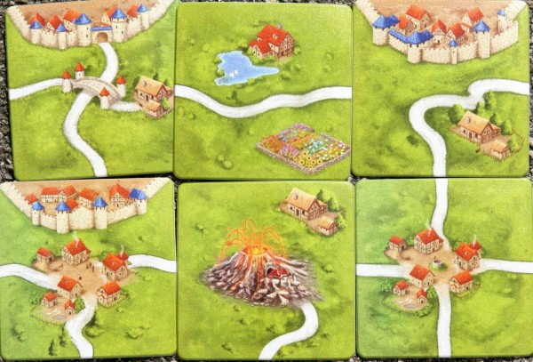 Carcassonne Coaster Set V