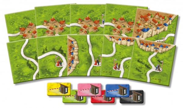 Carcassonne - The Tollkeepers (new edition, DE/EN)