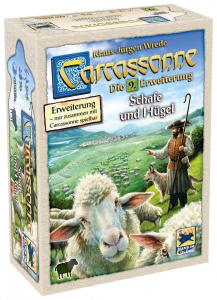 Carcassonne - 9. Erw. - Schafe und Hügel (neue Edition)