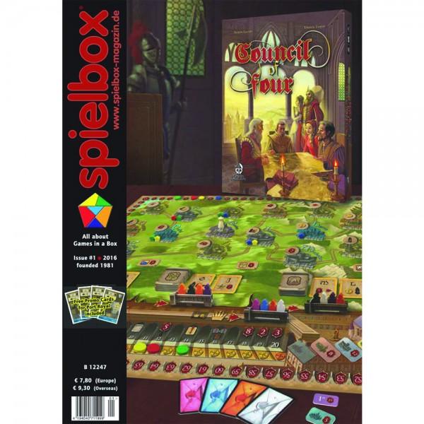 Spielbox 1/2016 (English Edition)