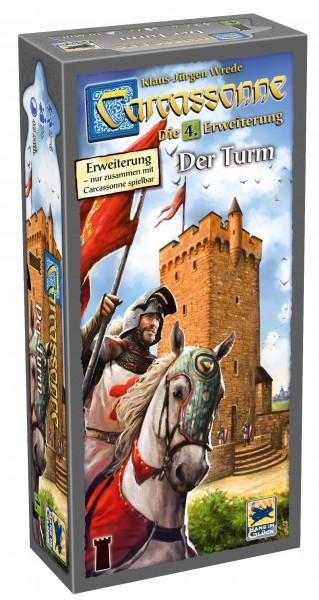 Carcassonne - 4. Erw. - Der Turm (neue Edition, DE)