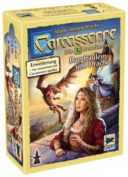 Carcassonne - 3. Erw. - Burgfräulein und Drache (neue Edition, DE)