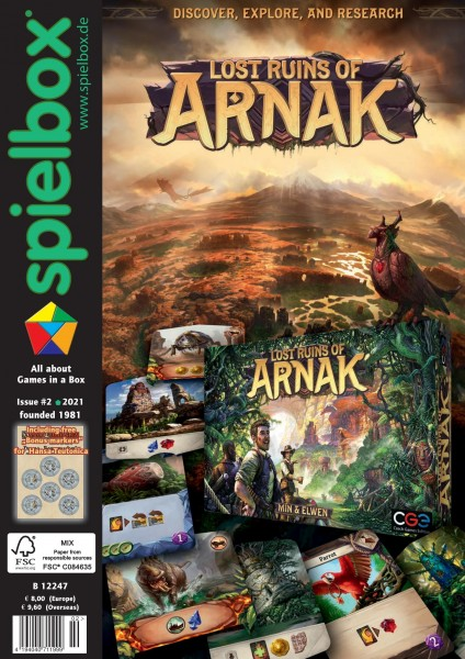 Spielbox 2/2021 (English Edition)