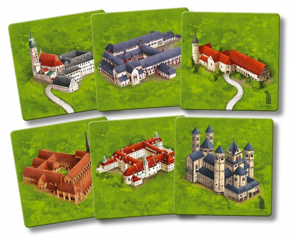 Carcassonne - Monasteries of Germany (new edition, DE/EN)