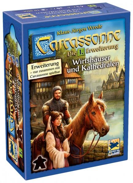 Carcassonne - 1. Erw. - Wirtshäuser und Kathedralen (neue Edition)