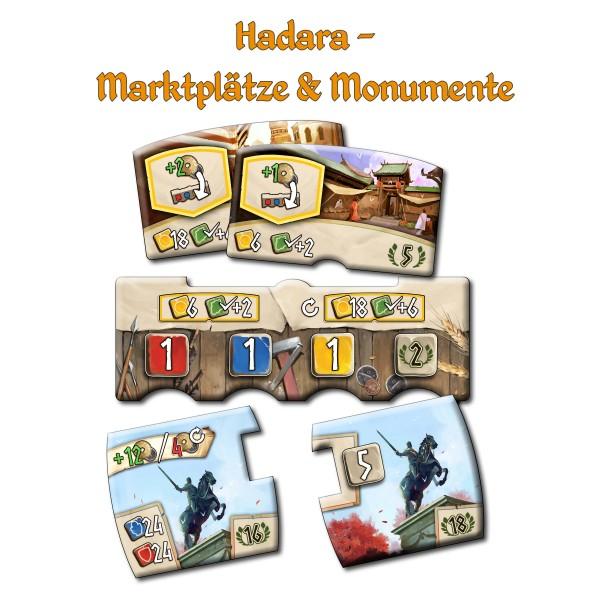 Hadara - Marktplätze & Monumente