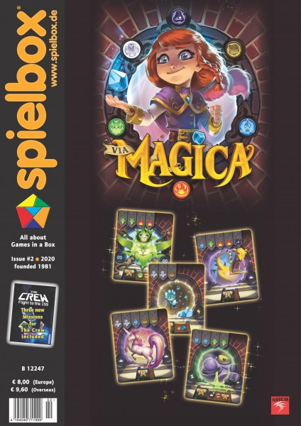 Spielbox 2/2020 (English Edition)