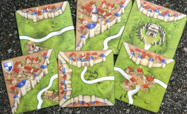 Carcassonne Coaster Set II