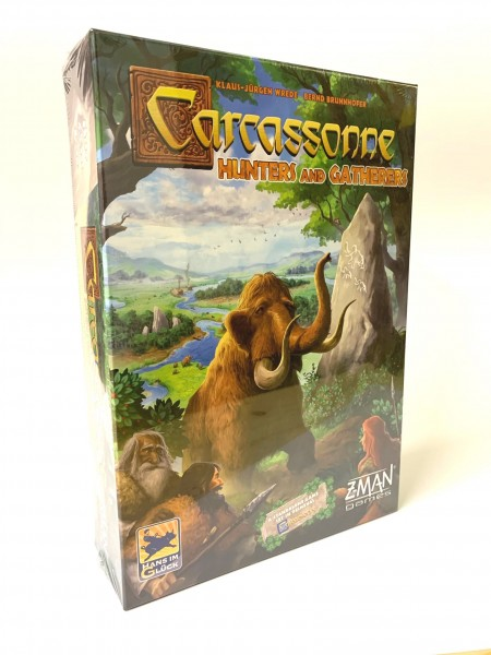 Carcassonne - Hunters and Gatherers EN version