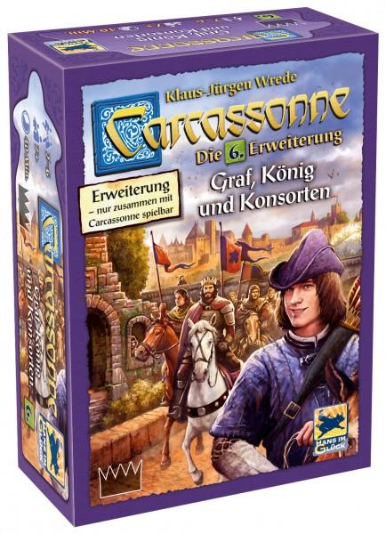 Carcassonne - 6. Erw. - Graf, König und Konsorten (neue Edition, DE)