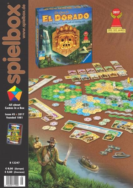 Spielbox 5/2017 (English Edition)