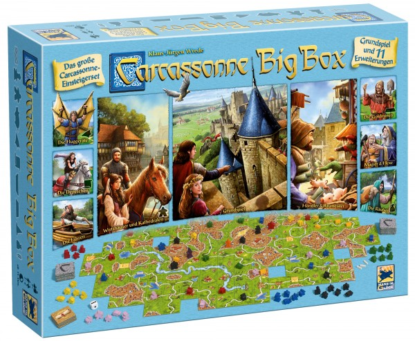 Carcassonne - Big Box (DE, 2017)