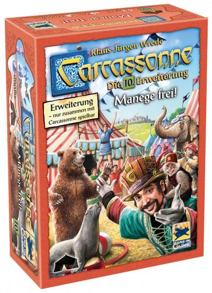 Carcassonne - 10. Erw. - Manege frei! (neue Edition)