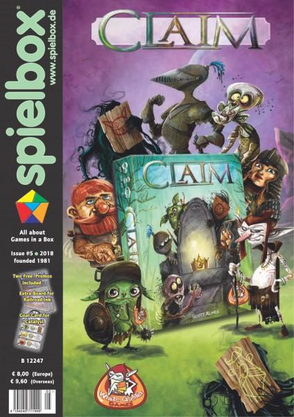 Spielbox 5/2018 (English Edition)